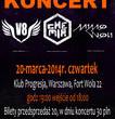 Koncert zespołu Chemia, V8 i Mimo Woli - transmisja na żywo tylko na NuPlays