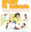 Sport i zdrowie w pracach konkursowych małych pacjentów