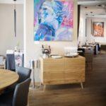 """Wystawa """"Poziomy znaczeń"""" Marceliny Groń w Food Art Gallery"""