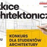 """""""Szkice architektoniczne"""" z użyciem trzech kolorów"""