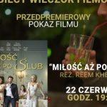 """""""Miłość aż po ślub"""" na Kobiecym Wieczorze Filmowym w Kinotece"""