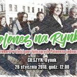 Maturzyści z Cieszyna biją Rekord Polski w ilości par tańczących poloneza