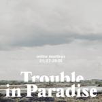 """Zachęta symbolicznie otwiera Biennale   """"Trouble in Paradise - online meetings"""""""